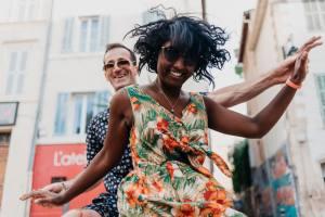 The Swing call, ecole de danse de swing à Marseille (solo)