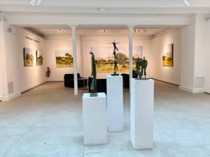 Espace Jouenne: galerie, espage de coworking et de séminaires, location logements à Marseille (sculputures)
