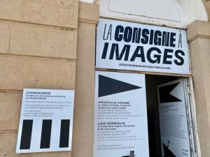 La Consigne à Images : visual arts centre in Marseille (signs)
