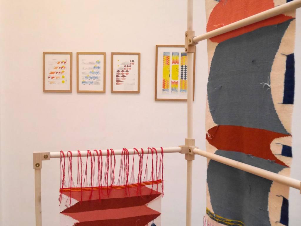 Fotokino, exhibition space in Marseille (textile exhibition)