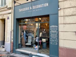 Les Sièges de Marie, tapisserie et décoraration à Marseille (showroom)