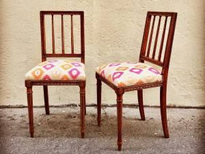 Les Sièges de Marie, tapisserie et décoraration à Marseille (renovation chaises)