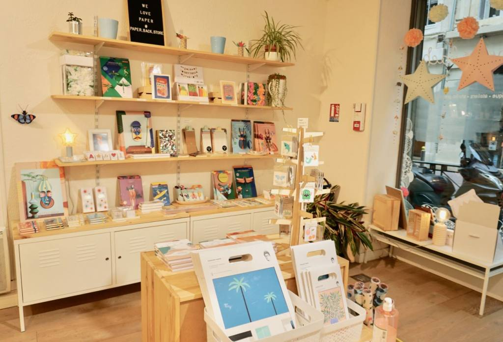 Paper-Back concept store Love-Spots, Marseille (display)