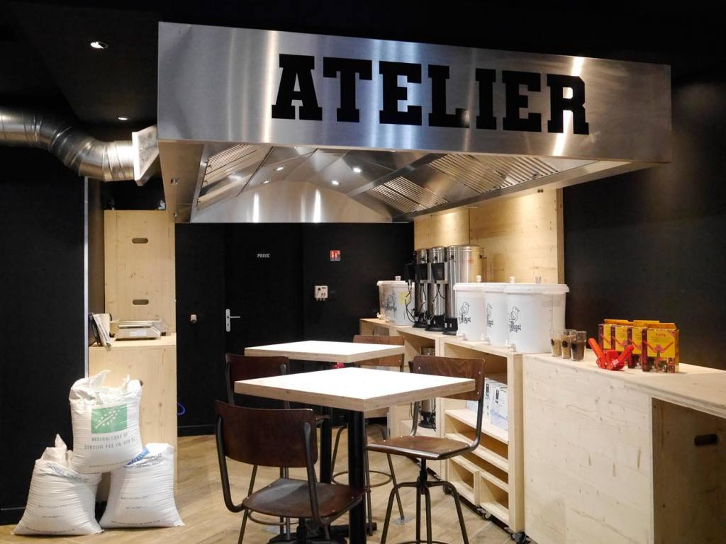 La Bière Academy,bar and beer cellar in Marseille : l'atelier de brassage