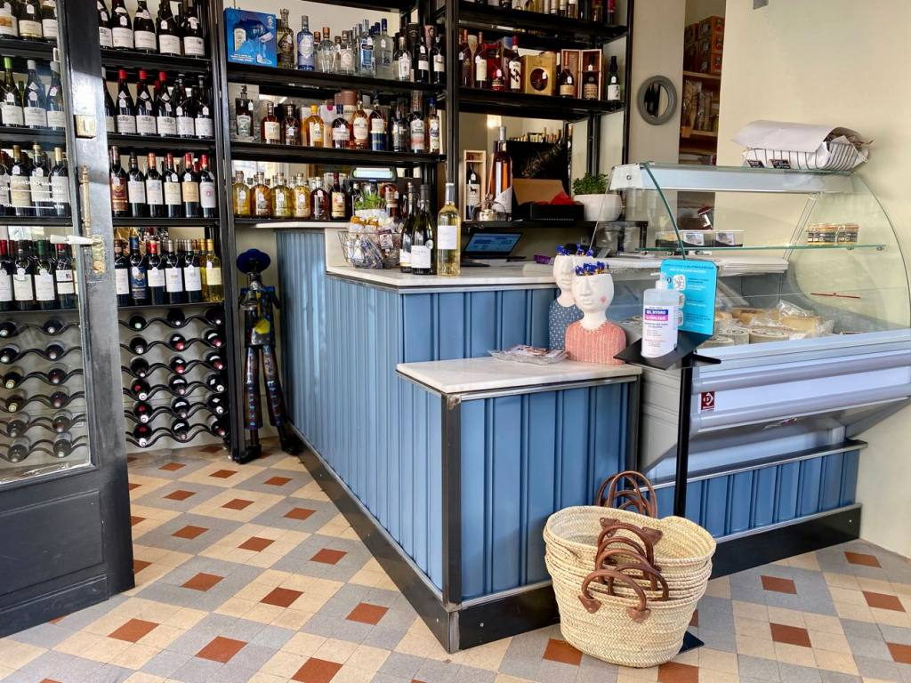 L'audacieux, cave à vins et épicerie fine à Marseille (comptoir)