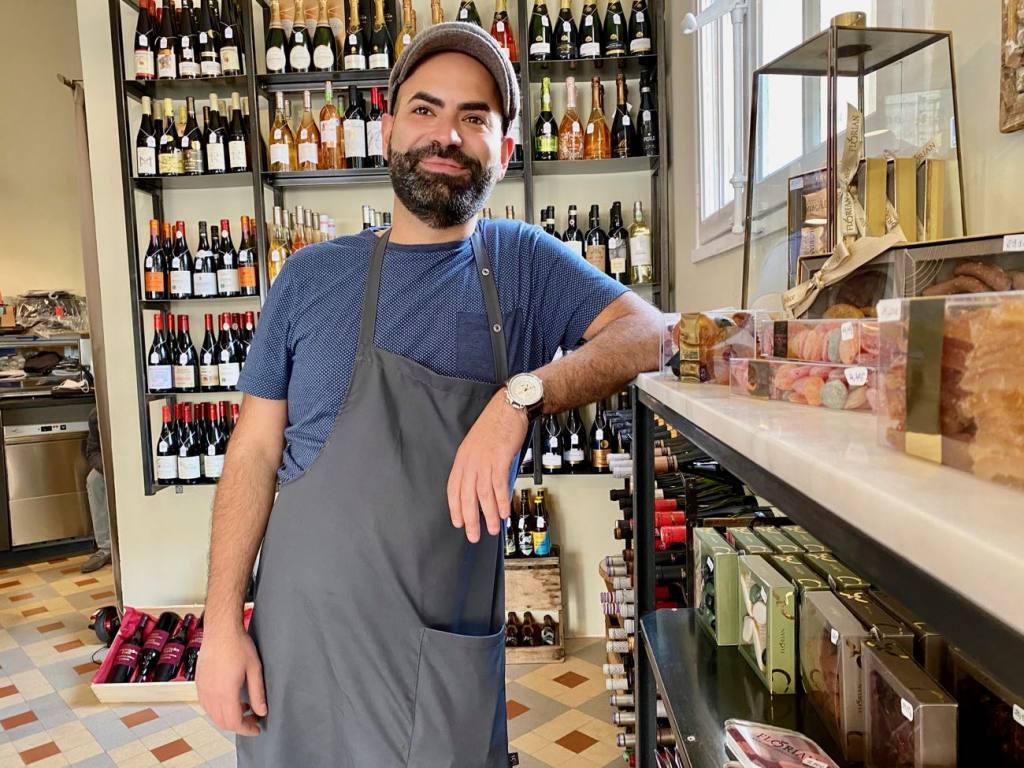 L'audacieux, wine cellar in Marseille (owner)