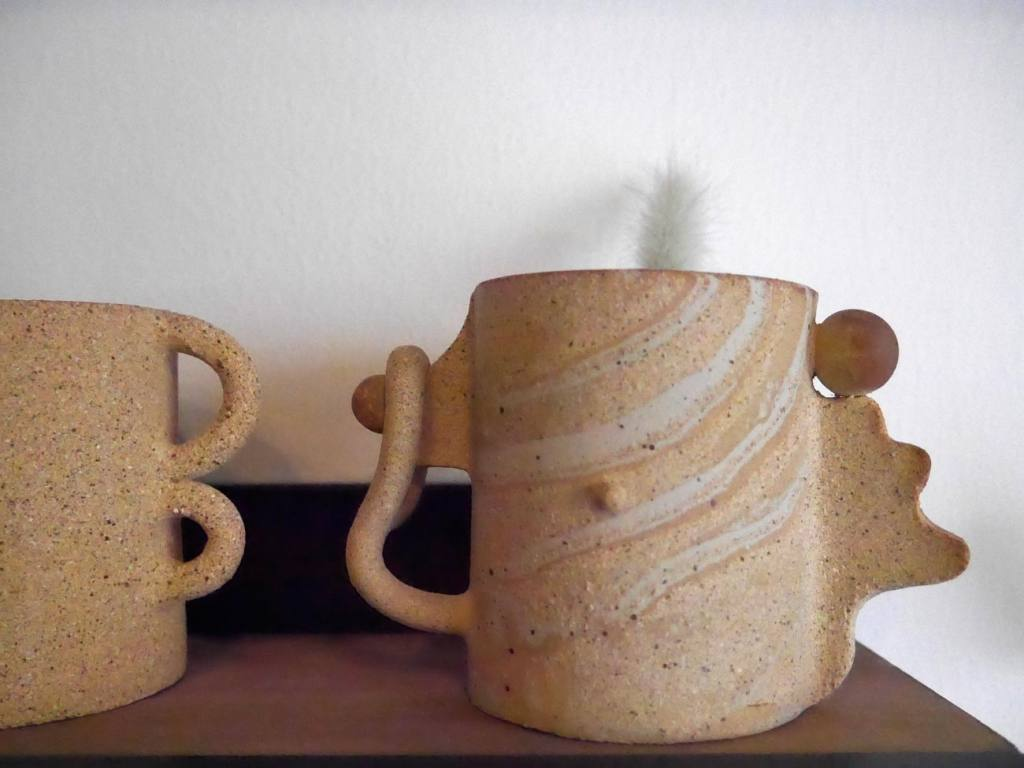 Superbe, pottery atelier and boutique in Marseille (cups)