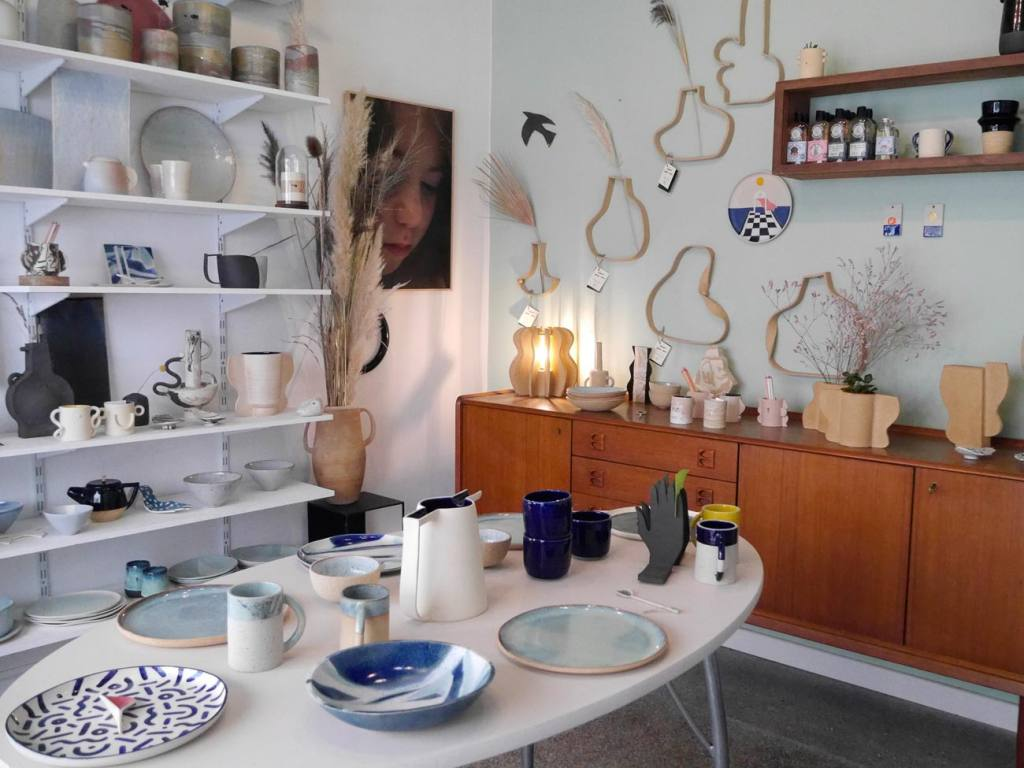 Superbe, pottery atelier and boutique in Marseille (the boutique)