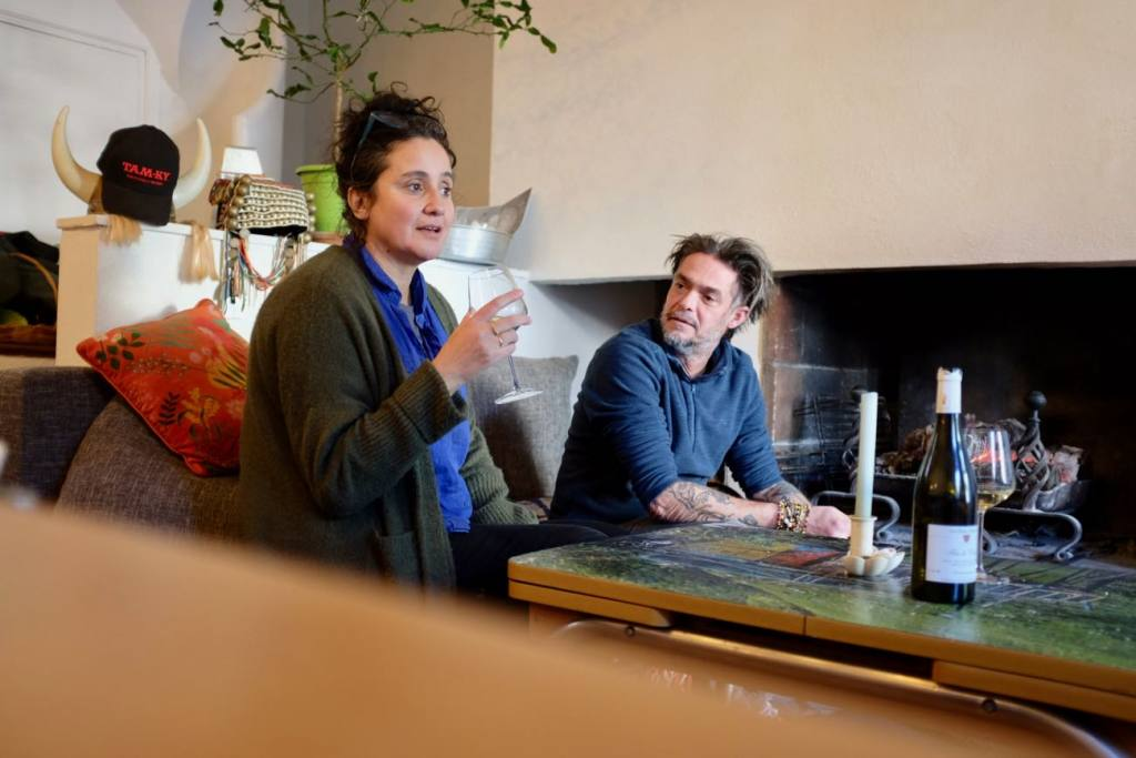 Aposto, arty table d'hôtes in Malmousque (Nadia Lagati and Philippe Ivanez)