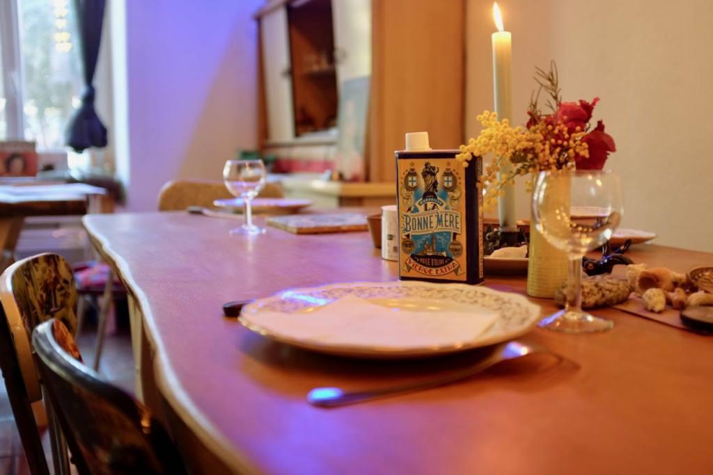 Aposto, table d'hôtes arty à Malmousque (Table)