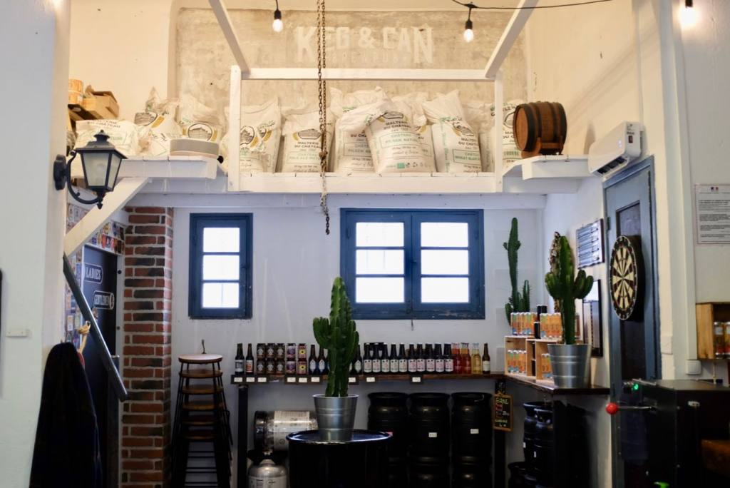 Keg & Can: micro-brasserie and bar in Marseille (interior)