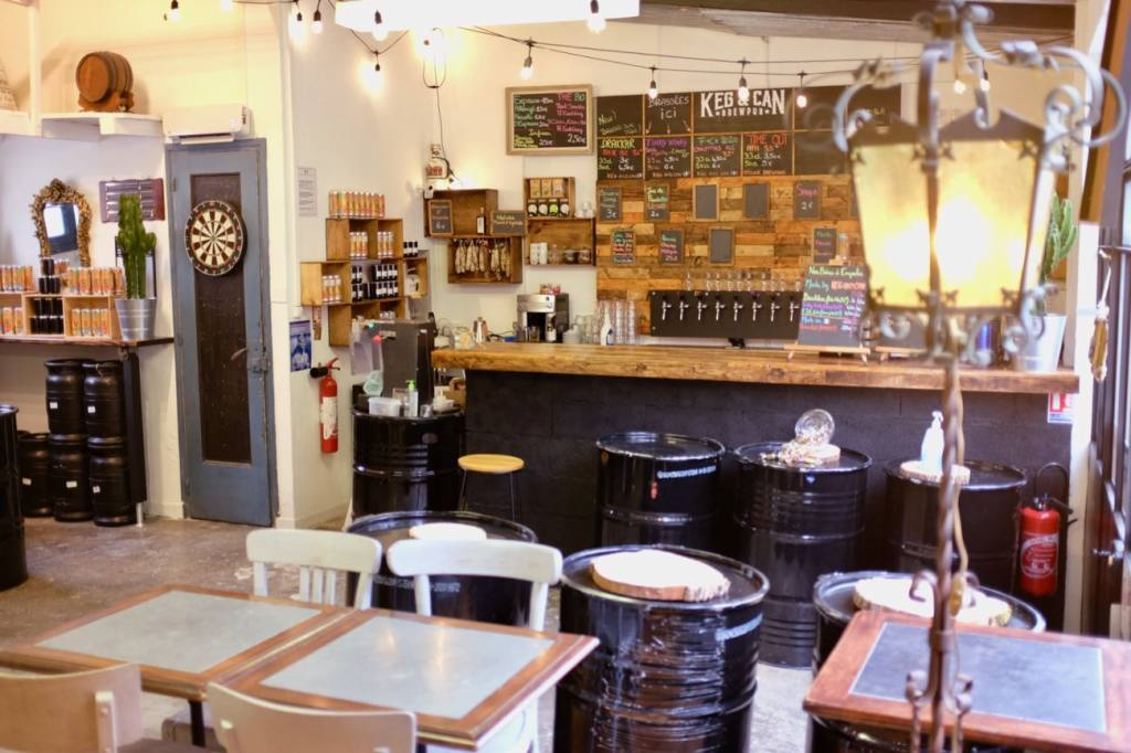 Keg & Can: micro-brasserie and bar in Marseille (the bar)