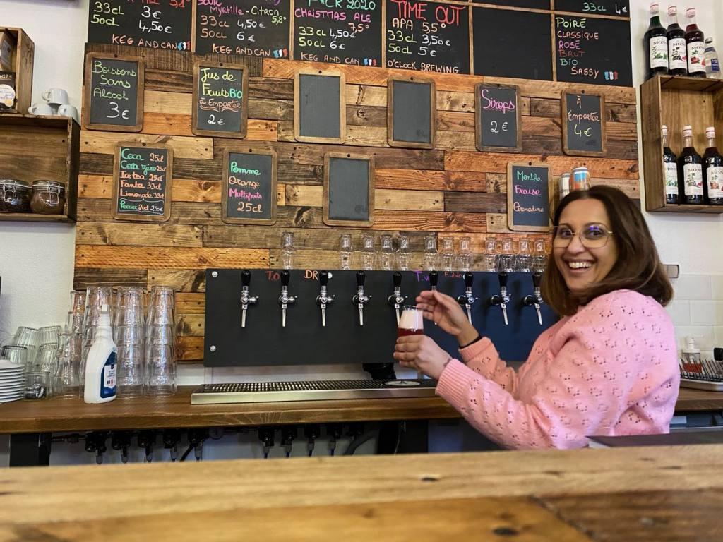 Keg & Can: micro-brasserie et bar à bières artisanales à Marseille (tireuse)