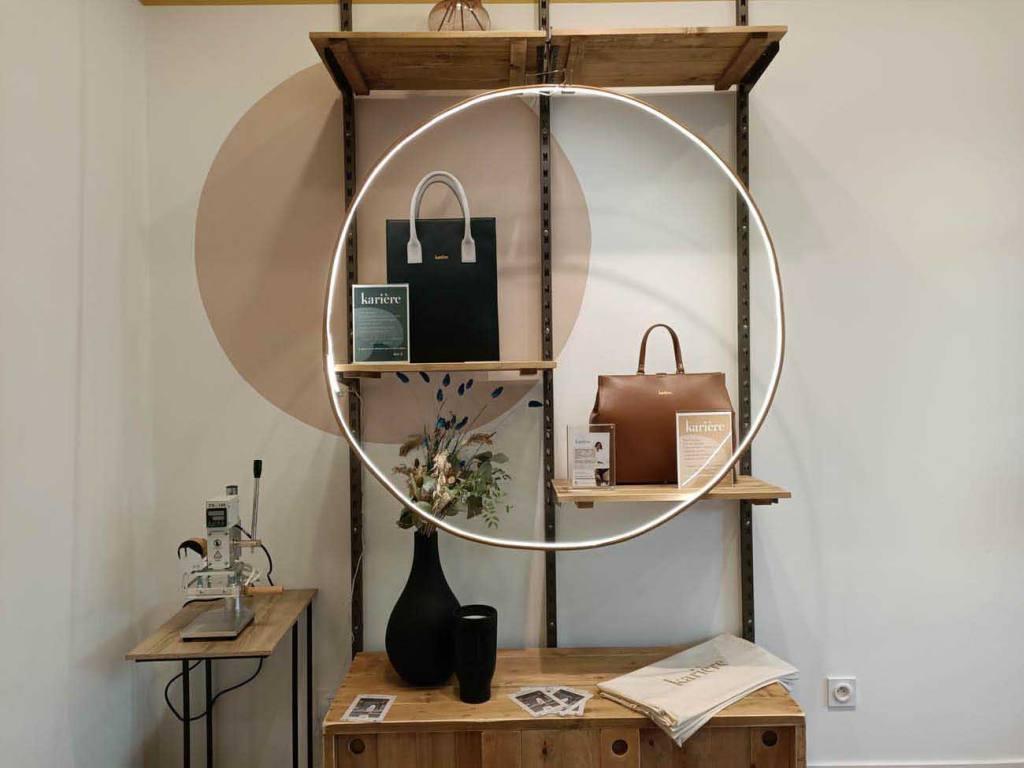 L'ouvre Boite, concept-store à Marseille ( Karière sacs en cuir)