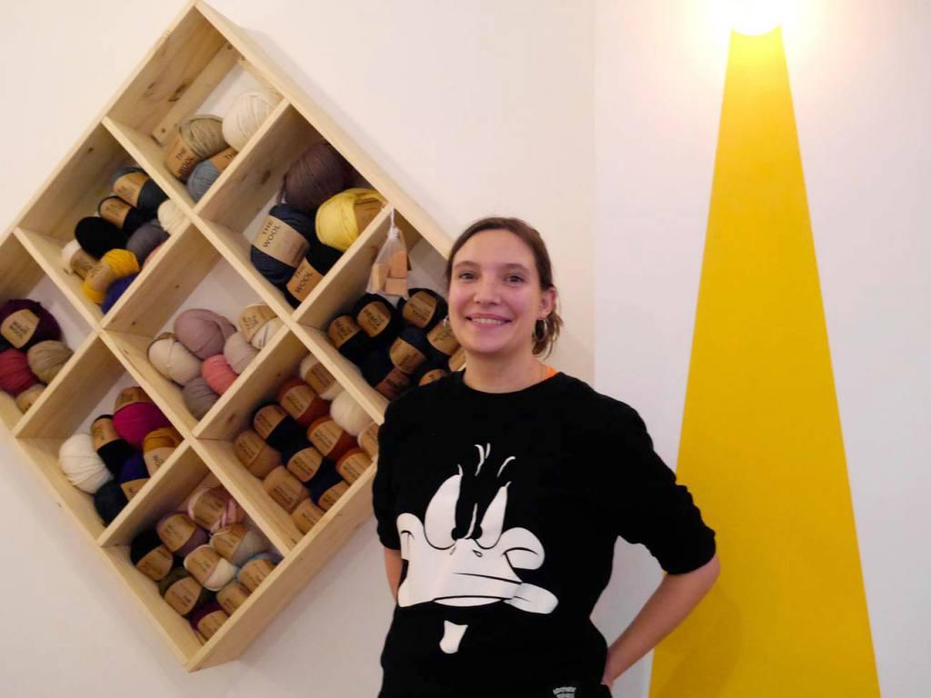 Le Fil en Trop, café tricot à Marseille (Chloé, la gérante)