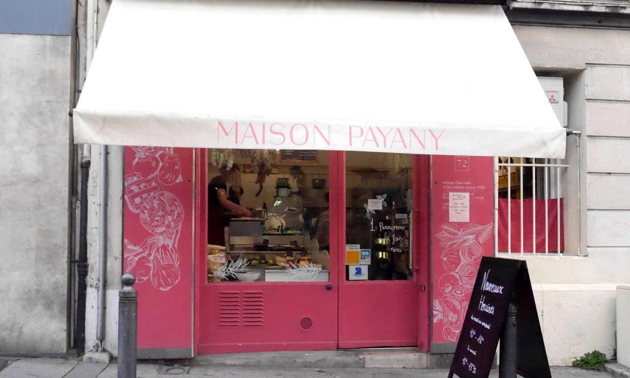 Maison Payany, charcuterie à Marseille (devanture)