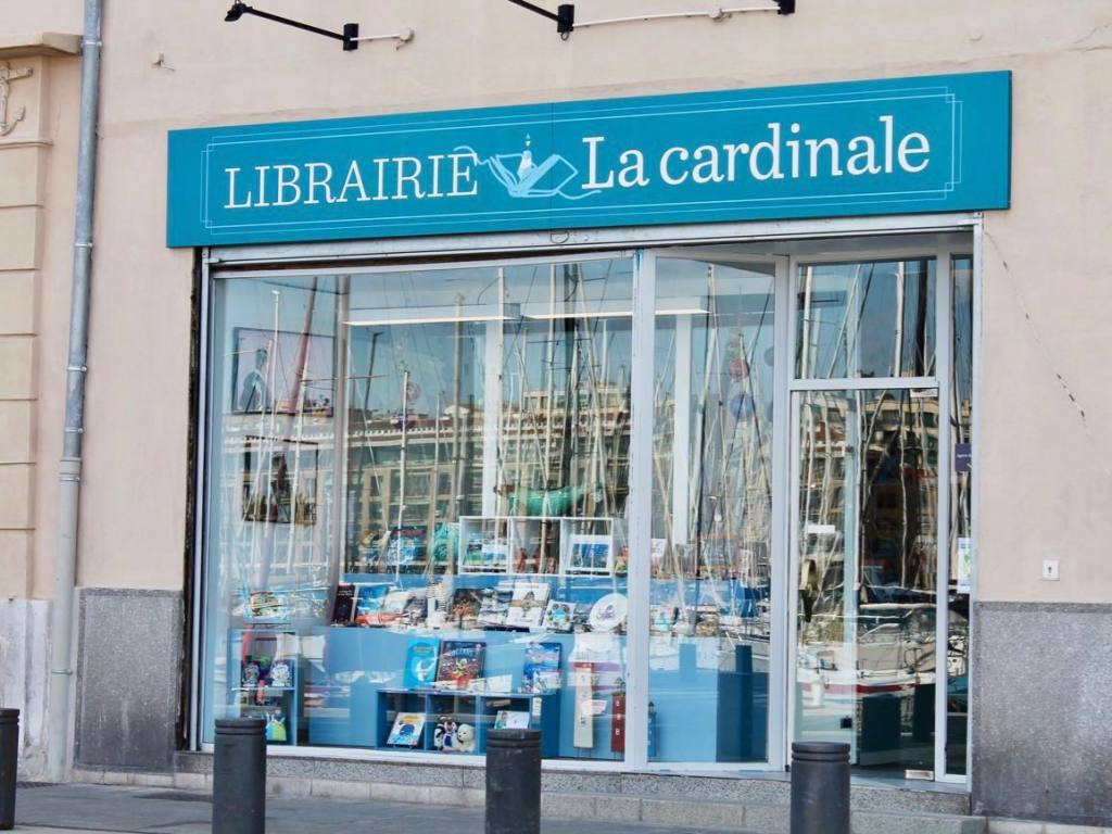 La Cardinale, bookshop, Marseille (frontage)