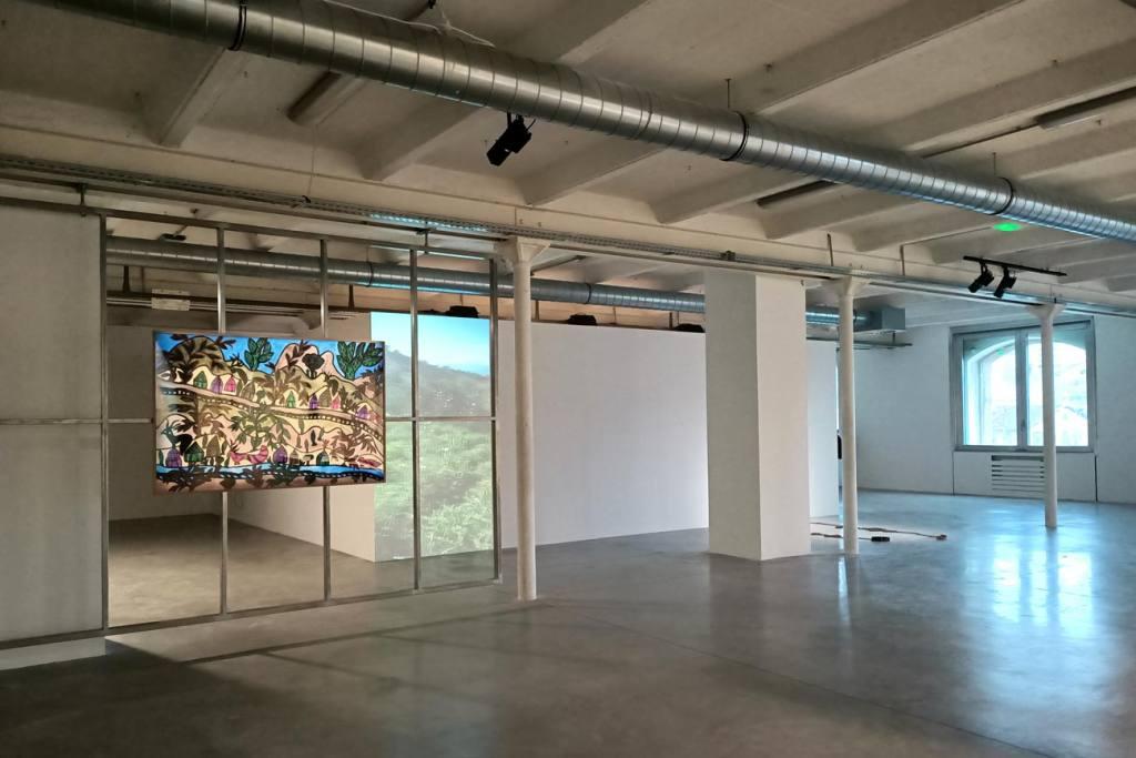 En attendant Omar Gatlato, Exposition à Marseille, vue d'ensemble
