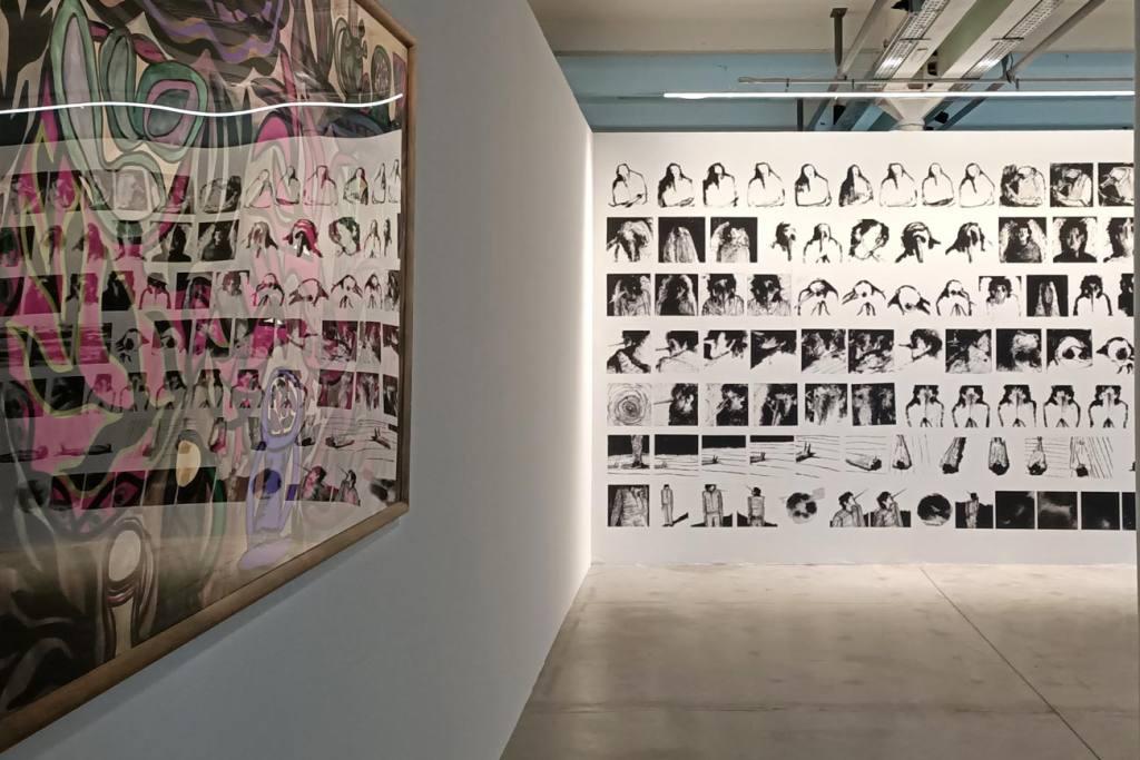 En attendant Omar Gatlato, Exposition à Marseille, entrée de l'exposition
