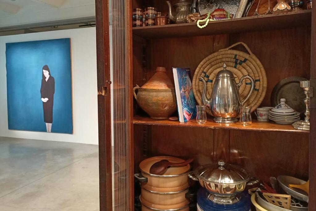 En attendant Omar Gatlato, Exposition à Marseille, Bibliothèque arabe de Adel Bentounsi