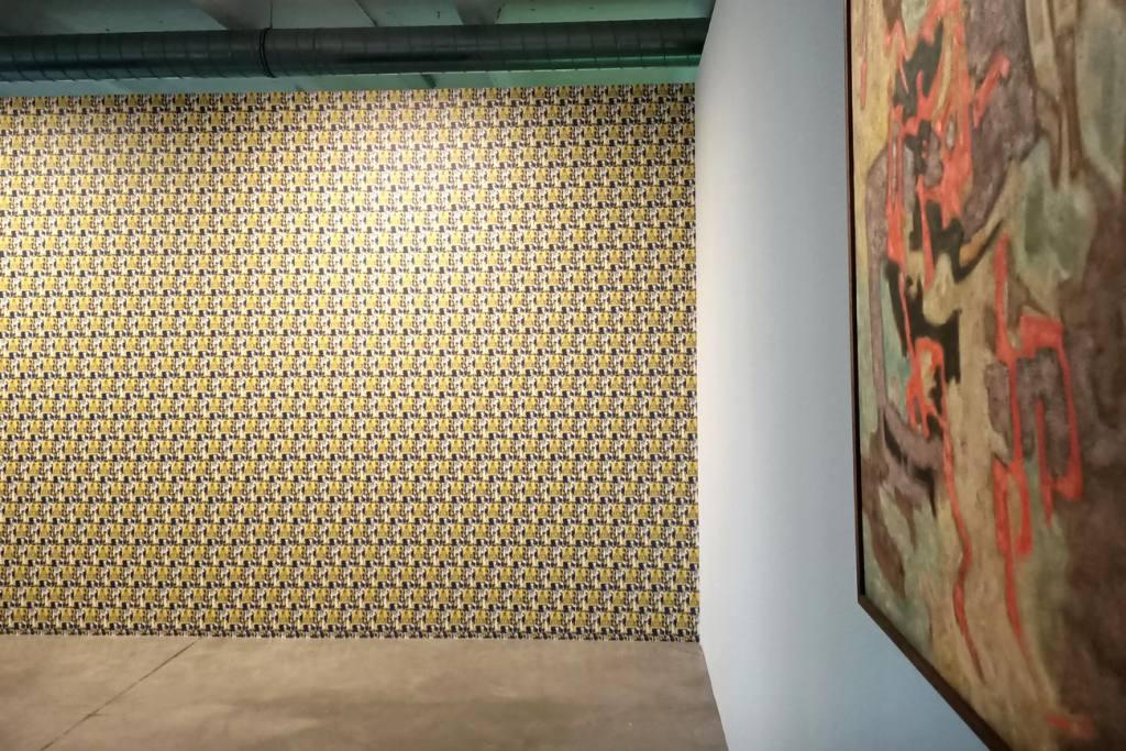 En attendant Omar Gatlato, Exposition à Marseille, Mohammed Khadda et Mourad Krinah