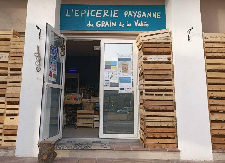 Le Grain de la Vallée, épicerie paysanne à Marseille (entrée)