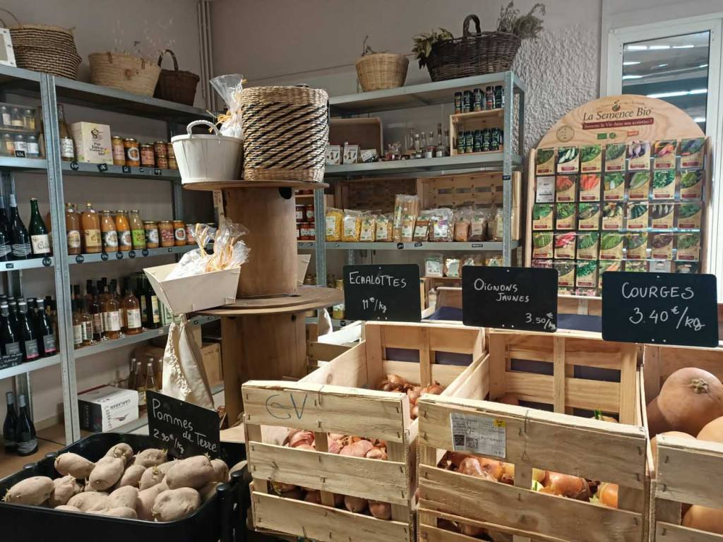 Le Grain de la Vallée, épicerie paysanne à Marseille (vue d'ensemble)