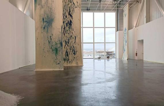 Touche-moi de Sophie Bueno-Boutellier, exposition à Marseille, vue d'ensemble