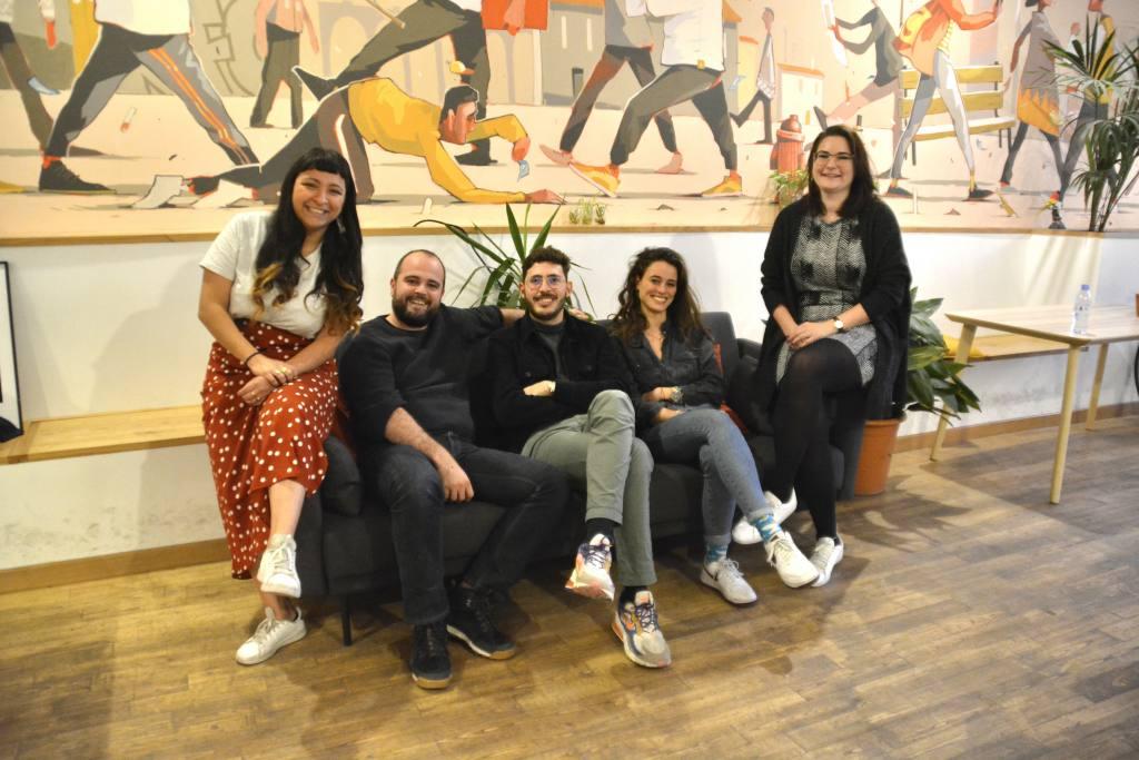 La briqueterie, espace de coworking numérique à MarseilleLa briqueterie, digital co-working in Marseille, city guide love-spots (the team)