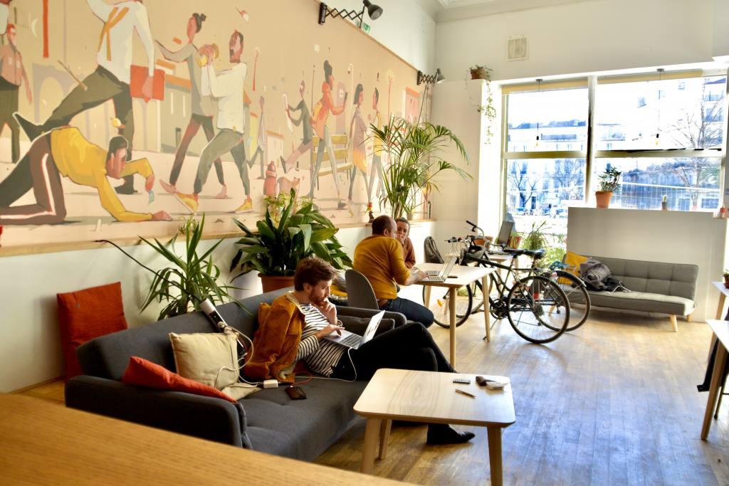 La briqueterie, digital co-working in Marseille, city guide love-spots (communal space)