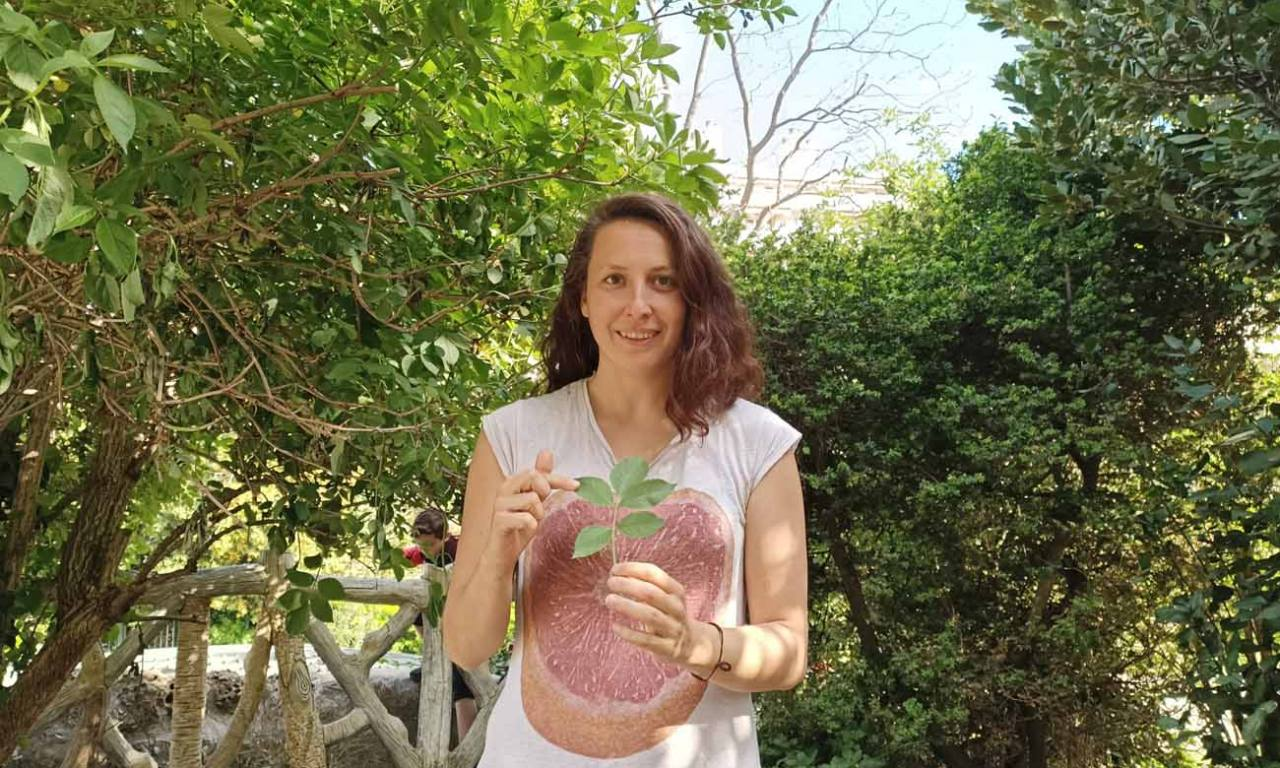 La draille comestible, balades à Marseille pour découvrir les plantes sauvages : Célia