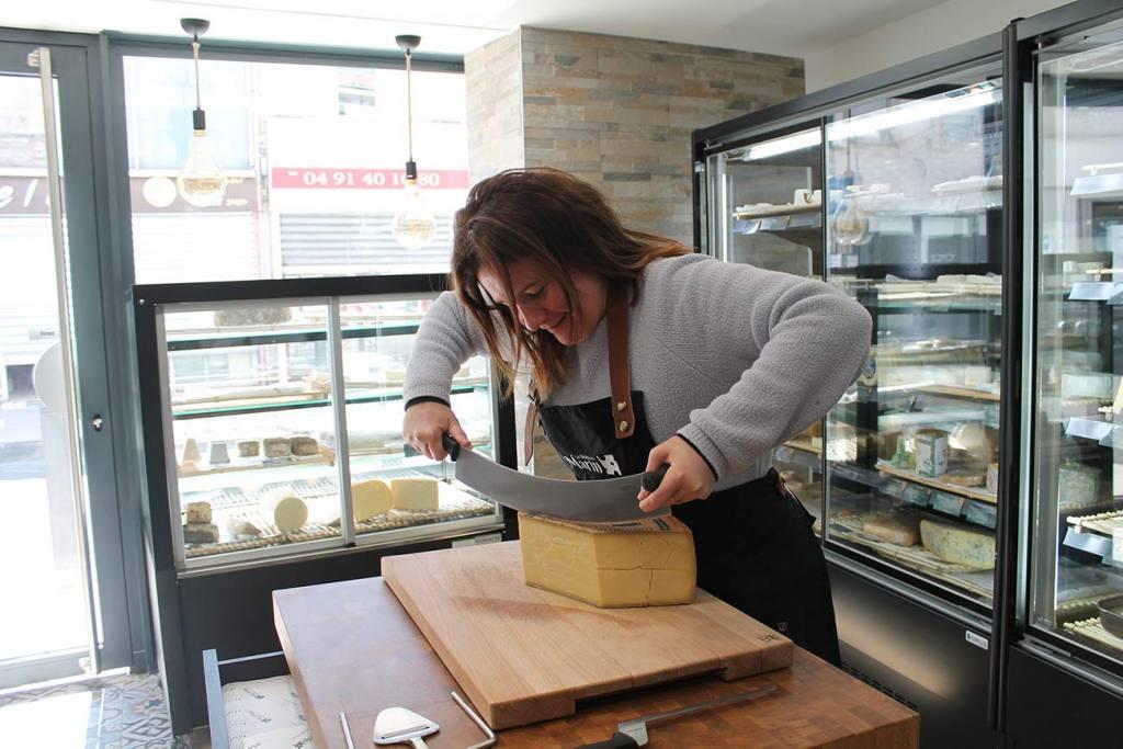 La Maison Marin, cheese shop in Mazargues, Marseille (Margot)