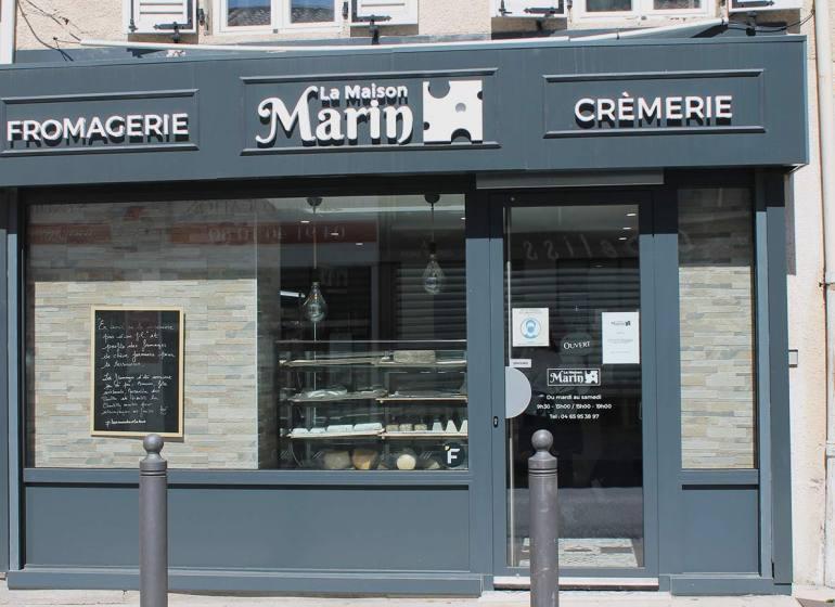 La Maison Marin, crèmerie et fromagerie dans le quartier de Mazargues à Marseille 5devanture)