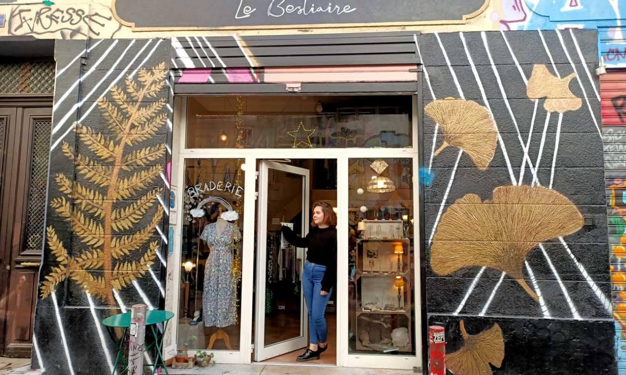 Le bestiaire, boutique mode à Marseille : devanture