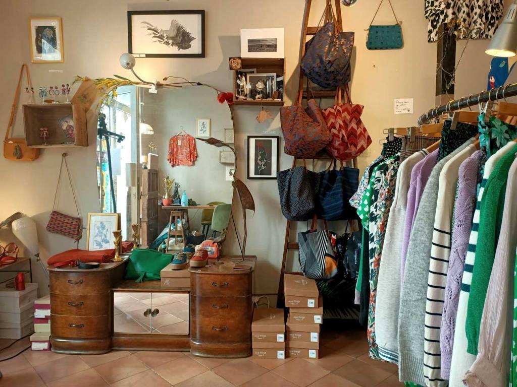 Le bestiaire, fashion boutique in Marseille, city guide love spots (interior)