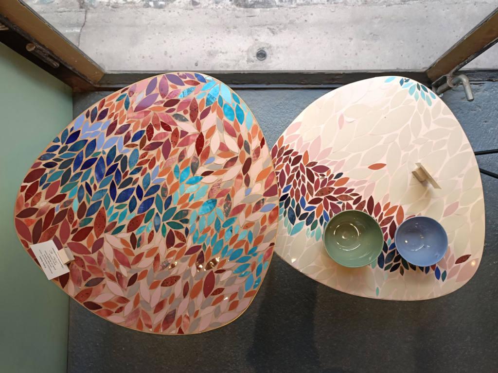 Atelier Céladon, artisanat à Marseille : tables de Charlotte Couraleau