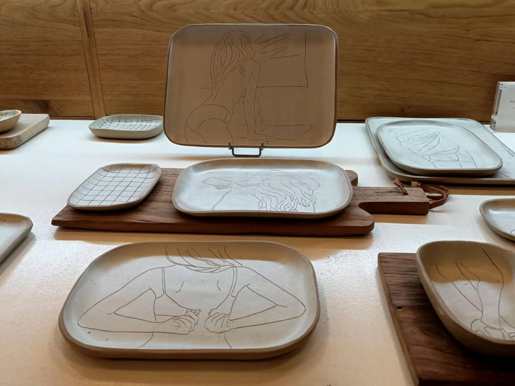 Atelier Céladon, artisanat à Marseille : porcelaines d'Agnès Monges