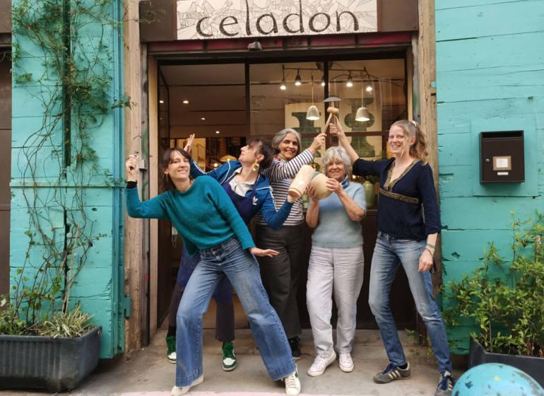 Atelier Céladon, artisanat à Marseille : l'équipe de créatrices