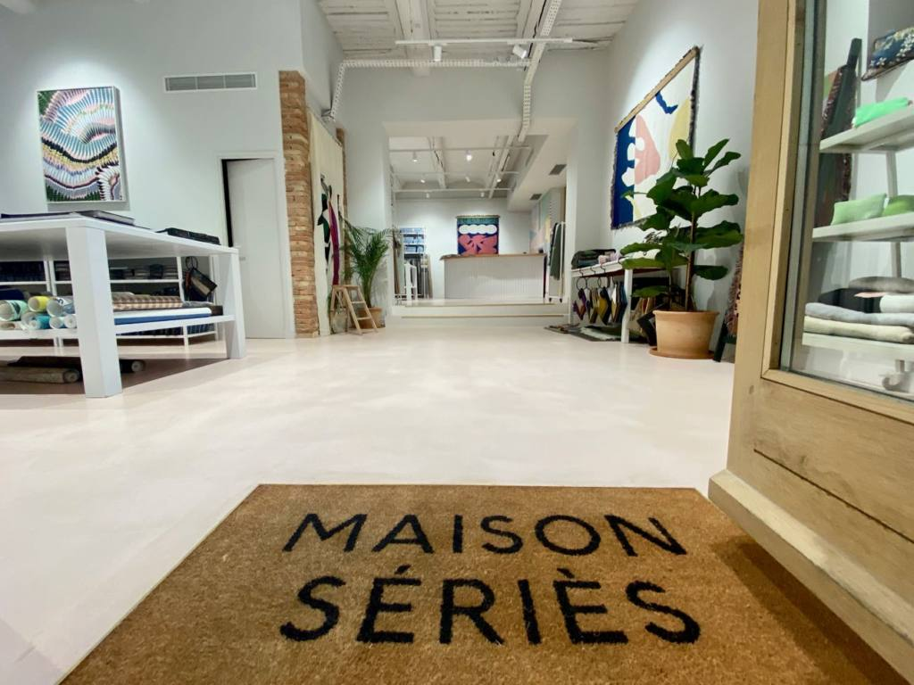 Maison Series, fabrics and wallpapers in Marseille, city guide Love Spots (displays)