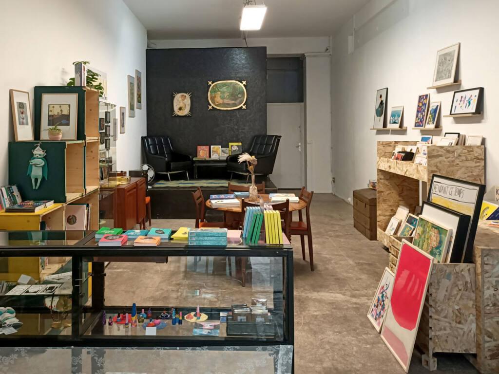 Oh ! Mirettes, boutique d'art à Marseille : boutique vue d'ensemble