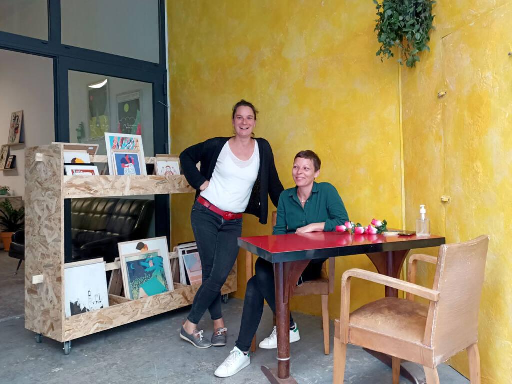 Oh ! Mirettes, boutique d'art à Marseille : Elsa et Mel