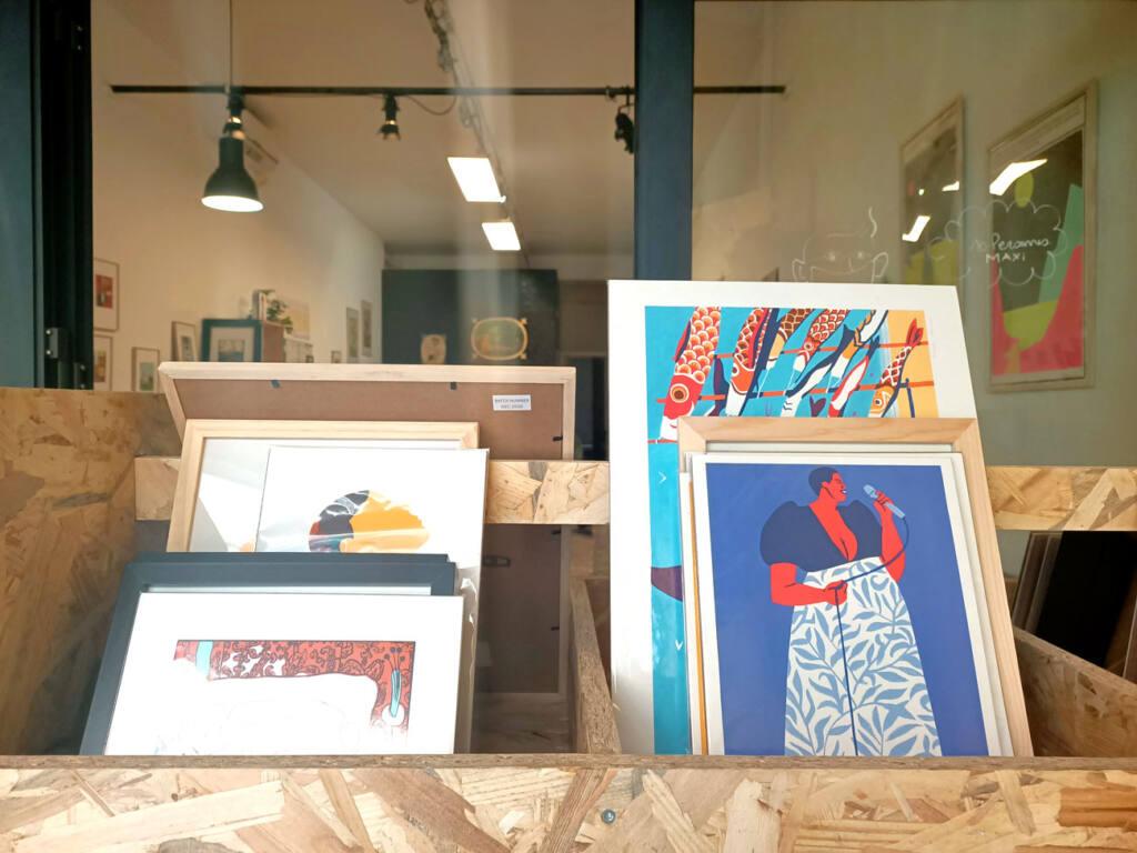 Oh ! Mirettes, boutique d'art à Marseille : illustrations