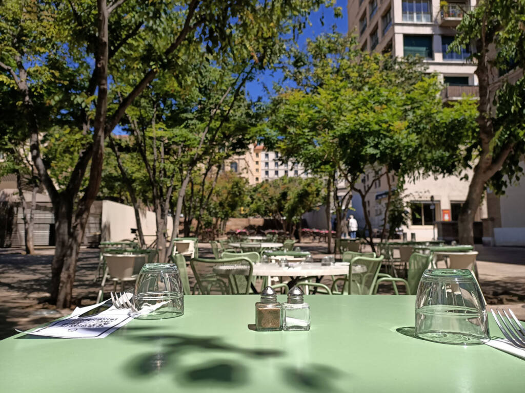Placette, restaurant with terrace in Marseille : terrace