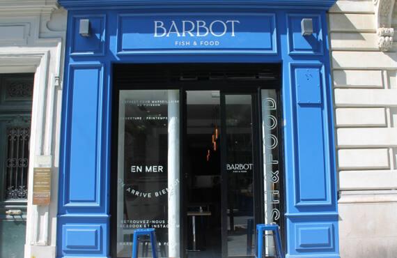 Barbot, fish restaurant, Marseille (frontage 2)
