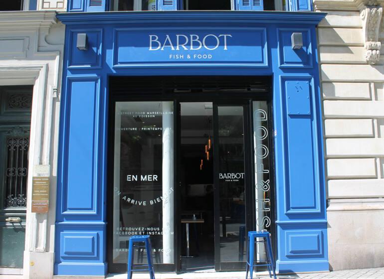 Barbot, Burger de poisson, Marseille (devanture 2)