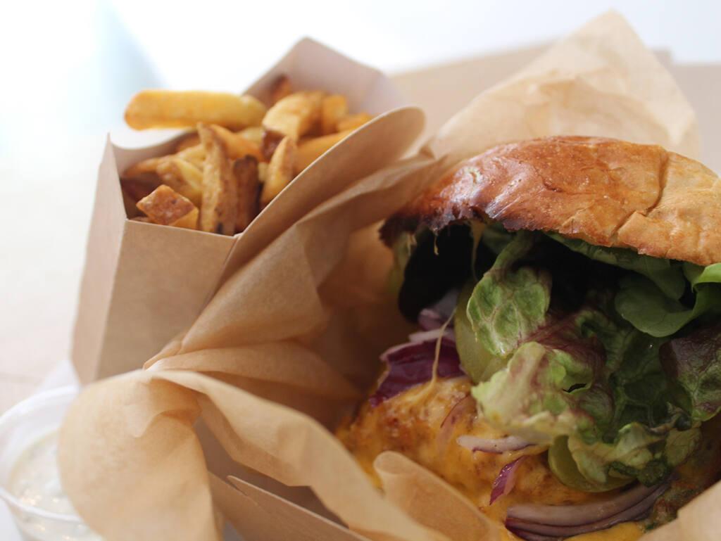 Barbot, Burger de poisson, Marseille (burger)