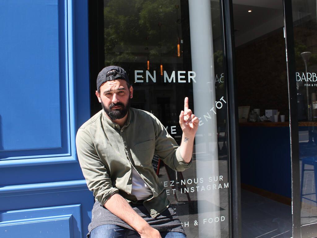 Barbot, Burger de poisson, Marseille (Anthony)