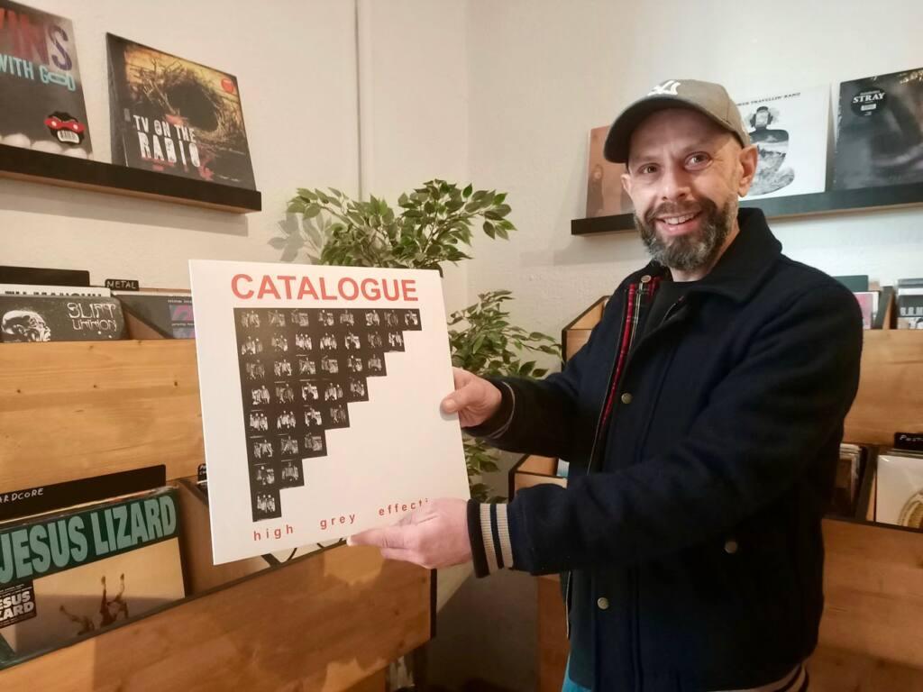 Le Fuzz, café et disquaire à Marseille : Olivier