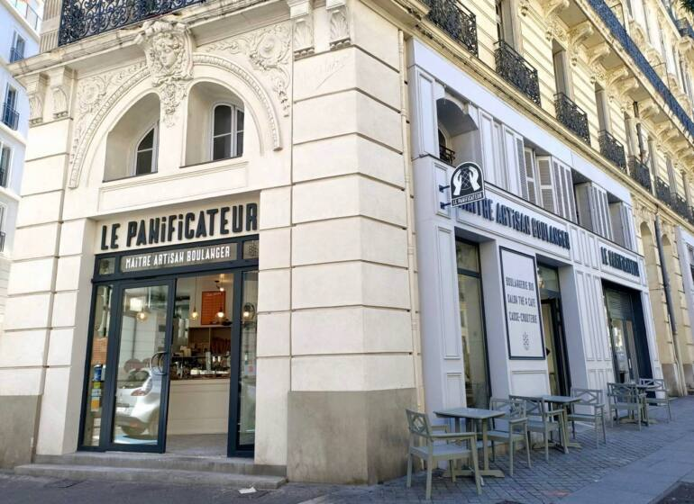 Le Panificateur, artisan bakery in Marseille : frontage