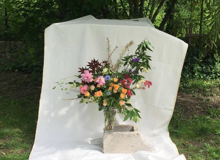 Fleuriste à Marseille : bouquet Lila Noir